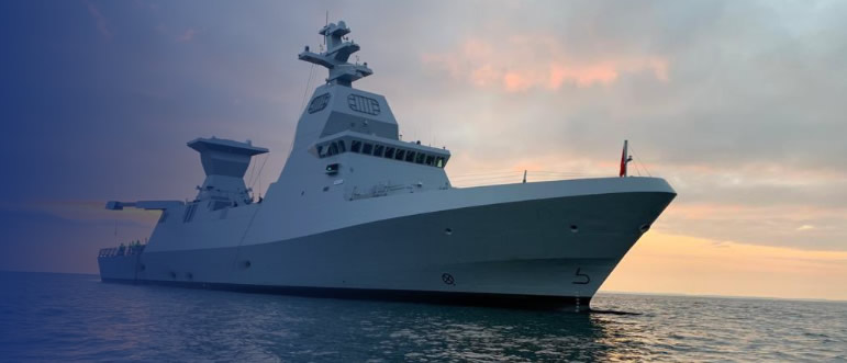 Orbit Communication Systems reports delivery of a military satellite communications system from the OceanTRx4 Mil family to the Israeli Navy, for the Saar 6-class corvette