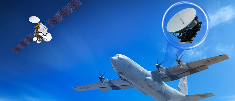 Orbit GX46 Airborne SATCOM Terminal Receives Inmarsat Global Xpress Commercial and Military Ka-band Type Approval