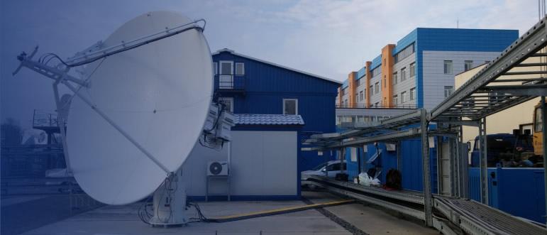 Mobile TT&C GS for Geo Satellites in Europe